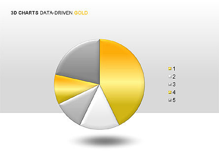 Graph Charts: 3D Charts (Data-Driven) Collection #00002