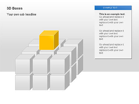 3D Boxes Collection, 00003, Shapes — PoweredTemplate.com