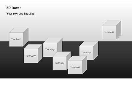 3D Boxes Collection, Slide 8, 00003, Shapes — PoweredTemplate.com