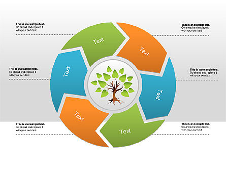 Cause and Effect Diagram, Slide 2, 00008, Tree Diagrams — PoweredTemplate.com