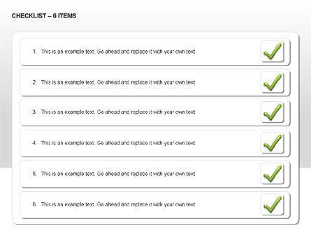 Checklist Collection, Slide 11, 00009, Text Boxes — PoweredTemplate.com
