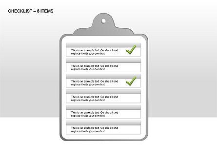 Checklist Collection, Slide 5, 00009, Text Boxes — PoweredTemplate.com