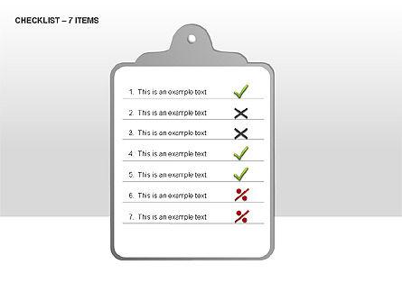 Checklist Collection, Slide 6, 00009, Text Boxes — PoweredTemplate.com
