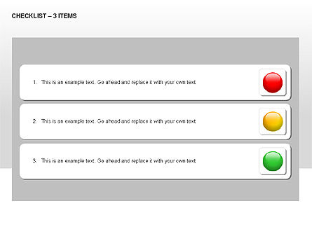 Checklist Collection, Slide 8, 00009, Text Boxes — PoweredTemplate.com