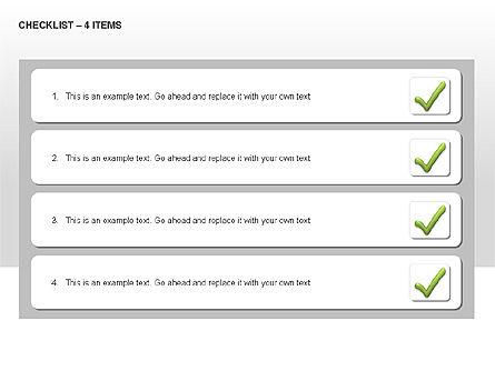 Checklist Collection, Slide 9, 00009, Text Boxes — PoweredTemplate.com
