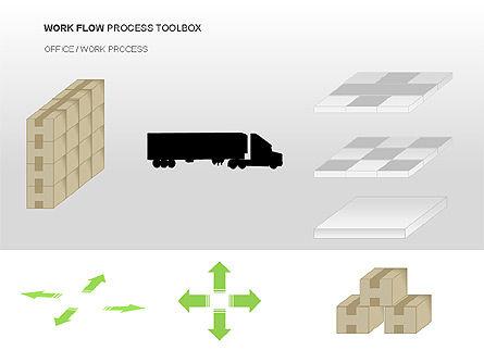 Workflow Process Chart, Slide 12, 00013, Process Diagrams — PoweredTemplate.com