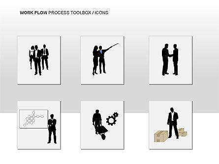 Workflow Process Chart, Slide 13, 00013, Process Diagrams — PoweredTemplate.com