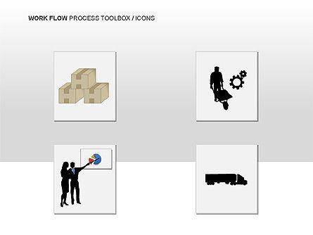 Workflow Process Chart, Slide 15, 00013, Process Diagrams — PoweredTemplate.com