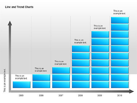 Graph Charts: Line and Trends Charts #00014
