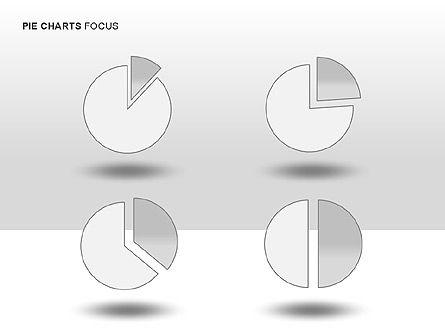Pie Charts Collection, Slide 10, 00017, Pie Charts — PoweredTemplate.com