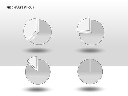 Pie Charts Collection, Slide 11, 00017, Pie Charts — PoweredTemplate.com