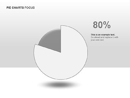 Pie Charts Collection, Slide 12, 00017, Pie Charts — PoweredTemplate.com