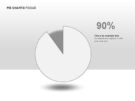Pie Charts Collection, Slide 13, 00017, Pie Charts — PoweredTemplate.com