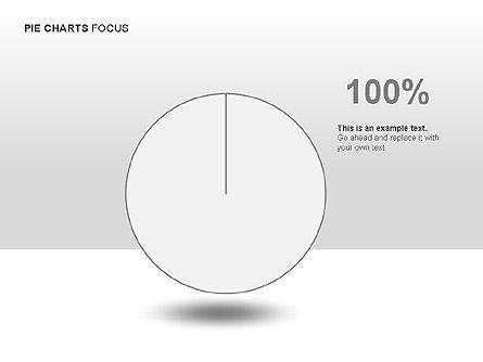 Pie Charts Collection, Slide 15, 00017, Pie Charts — PoweredTemplate.com