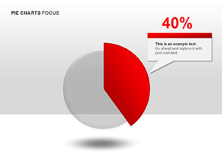 Pie Charts Collection, Slide 4, 00017, Pie Charts — PoweredTemplate.com