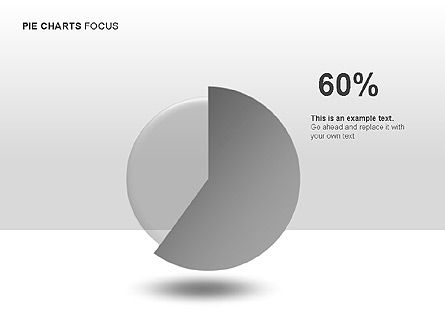 Pie Charts Collection, Slide 7, 00017, Pie Charts — PoweredTemplate.com