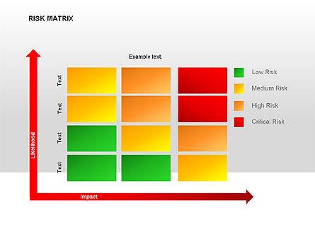 Risk Matrix Diagrams For Powerpoint Presentations