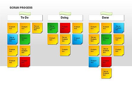 Scrum Process Diagram, Slide 10, 00019, Process Diagrams — PoweredTemplate.com
