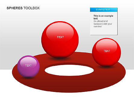 Spheres Toolbox, 00020, Shapes — PoweredTemplate.com