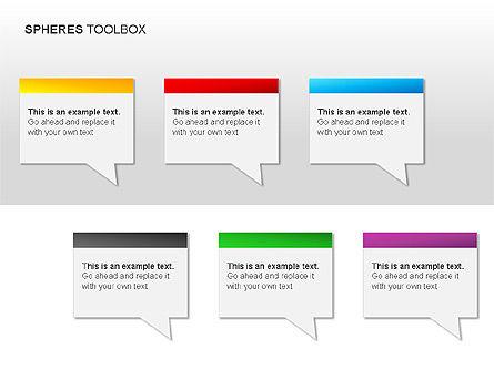 Spheres Toolbox, Slide 11, 00020, Shapes — PoweredTemplate.com