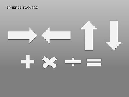 Spheres Toolbox, Slide 12, 00020, Shapes — PoweredTemplate.com