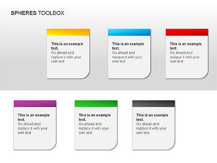 Spheres Toolbox, Slide 13, 00020, Shapes — PoweredTemplate.com