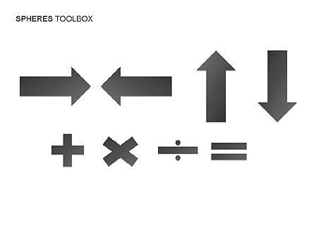 Spheres Toolbox, Slide 14, 00020, Shapes — PoweredTemplate.com