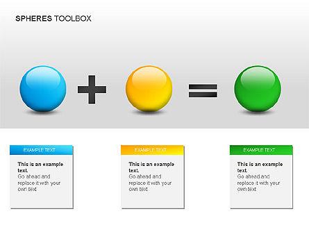 Spheres Toolbox, Slide 6, 00020, Shapes — PoweredTemplate.com