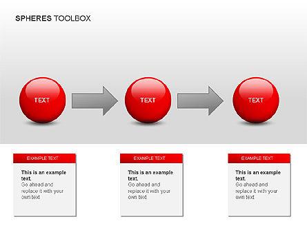 Spheres Toolbox, Slide 7, 00020, Shapes — PoweredTemplate.com