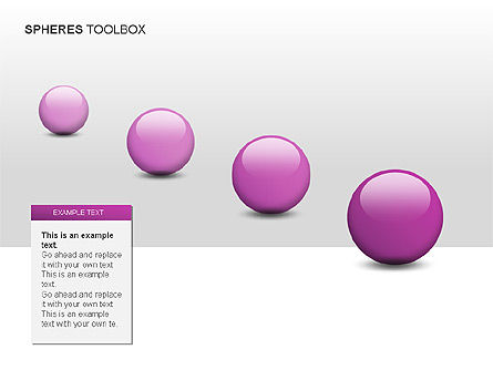 Spheres Toolbox, Slide 8, 00020, Shapes — PoweredTemplate.com