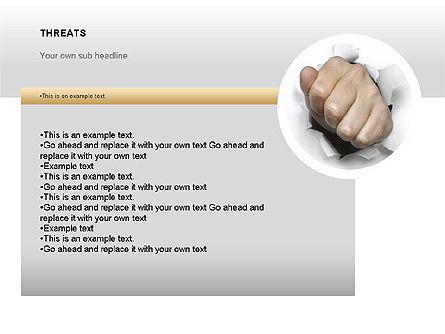 SWOT Diagram, Slide 15, 00022, Business Models — PoweredTemplate.com