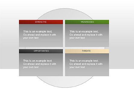 SWOT Diagram, Slide 2, 00022, Business Models — PoweredTemplate.com