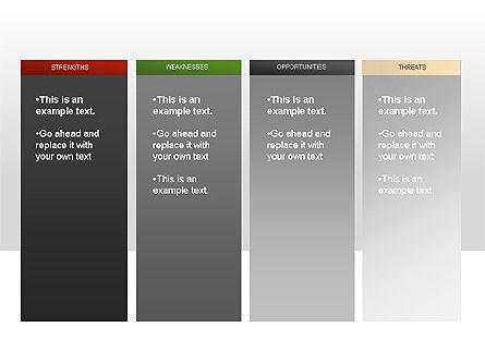 SWOT Diagram, Slide 3, 00022, Business Models — PoweredTemplate.com