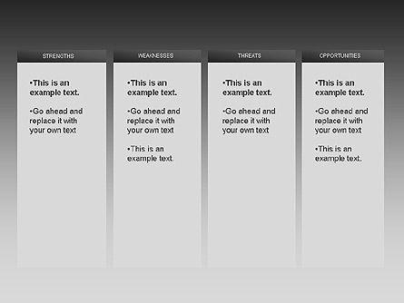 SWOT Diagram, Slide 4, 00022, Business Models — PoweredTemplate.com