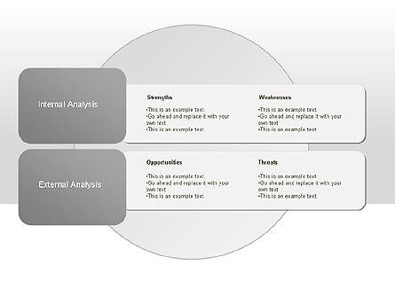 SWOT Diagram, Slide 5, 00022, Business Models — PoweredTemplate.com