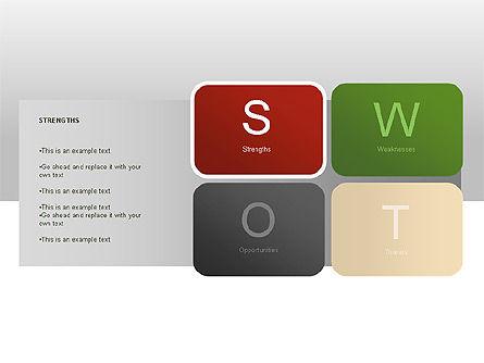 SWOT Diagram, Slide 7, 00022, Business Models — PoweredTemplate.com