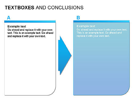 Text Boxes & Conclusions, 00024, Text Boxes — PoweredTemplate.com