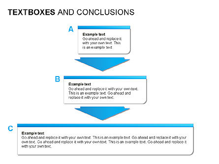 Text Boxes & Conclusions, Slide 10, 00024, Text Boxes — PoweredTemplate.com