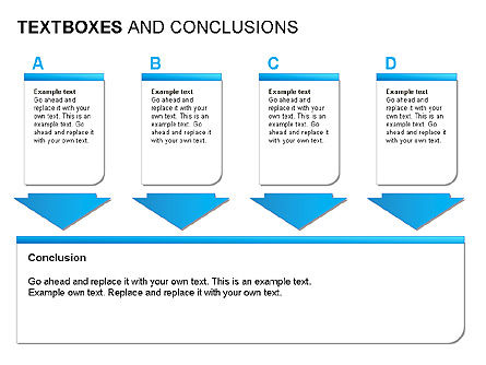 Text Boxes & Conclusions, Slide 11, 00024, Text Boxes — PoweredTemplate.com
