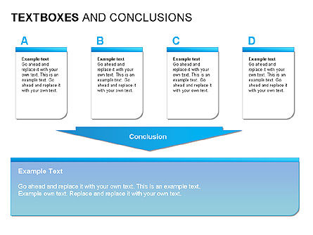 Text Boxes & Conclusions, Slide 12, 00024, Text Boxes — PoweredTemplate.com