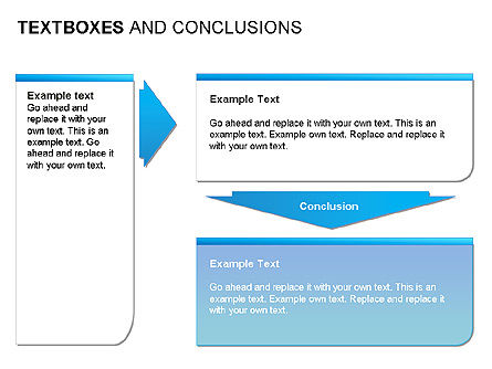 Text Boxes & Conclusions, Slide 13, 00024, Text Boxes — PoweredTemplate.com