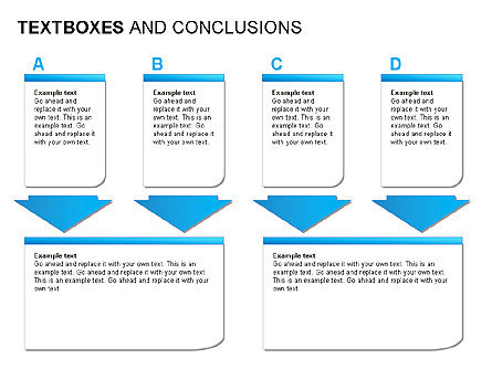 Text Boxes & Conclusions, Slide 14, 00024, Text Boxes — PoweredTemplate.com
