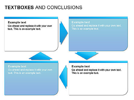 Text Boxes & Conclusions, Slide 15, 00024, Text Boxes — PoweredTemplate.com