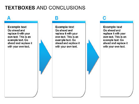 Text Boxes & Conclusions, Slide 2, 00024, Text Boxes — PoweredTemplate.com