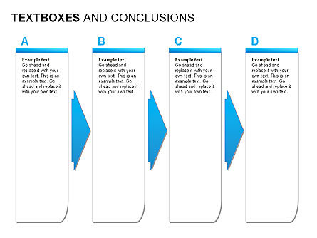 Text Boxes & Conclusions, Slide 3, 00024, Text Boxes — PoweredTemplate.com
