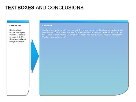 Text Boxes & Conclusions, Slide 4, 00024, Text Boxes — PoweredTemplate.com