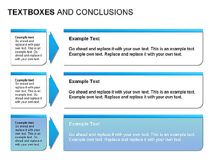 Text Boxes & Conclusions, Slide 5, 00024, Text Boxes — PoweredTemplate.com
