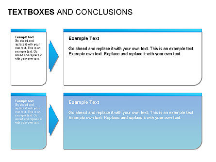 Text Boxes & Conclusions, Slide 6, 00024, Text Boxes — PoweredTemplate.com