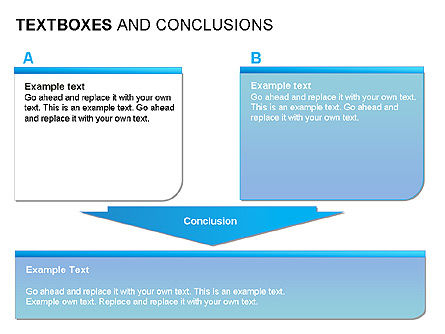 Text Boxes & Conclusions, Slide 7, 00024, Text Boxes — PoweredTemplate.com
