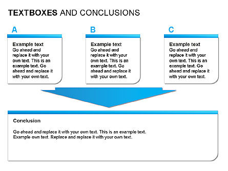 Text Boxes & Conclusions, Slide 8, 00024, Text Boxes — PoweredTemplate.com